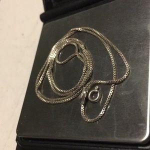 "Jewelry - Beautiful silver chain 20"""